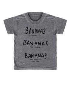 'BANANAS' T-SHIRT