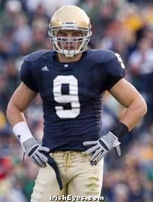 Tom Zbikowski..probably my favorite player at ND