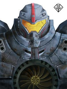 Gipsy Danger by adhicitra