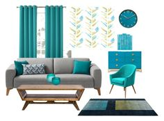 """""""Untitled #54"""" by mesacile ❤ liked on Polyvore featuring interior, interiors, interior design, home, home decor, interior decorating, Sun Zero, MODERNCRE8VE, Barclay Butera and Umbra"""