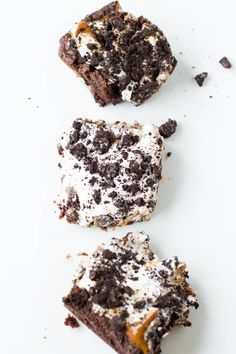 Dulce De Leche Fluff Brownies