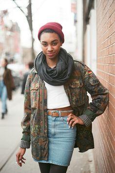 ©Toronto Street Fashion Mecha ~ photographed with Analog camera Minolta X-7A (plz do NOt remove source, thx!)