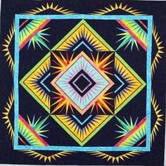 We love spiky quilts, which are perfect for paper piecing. One of our favorite artists in the genre is Deb Karasik. Deb's designs are tota...