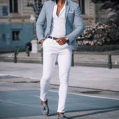 visit our website for the latest men's fashion trends products and tips . Blazer Outfits Casual, Stylish Mens Outfits, Mens Fashion Blazer, Suit Fashion, Mens Blazer Styles, Mens Casual Suits, Blazers For Men Casual, Moda Formal, Formal Men Outfit