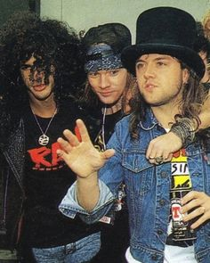 GNR slash, axel and Lars