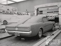 Ford Mustang Sculpting Design Photo