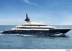 Steven Spielberg's Megayacht deemed the world's most expensive charter @ $1.3 mill a week.#Justdreamy