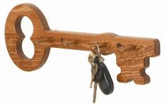 Wooden Key Holder Design Looking to obtain ideas regarding woodworking? http://www.woodesigner.net provides these!