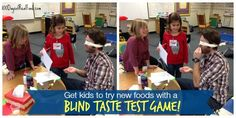 Taste testing games are a great way to get even the pickiest of kids to warm up to new foods! Here are 3 games you can easily do at home with your own kids.
