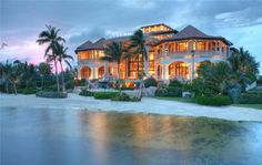 mansion in the Cayman Islands, anyone?
