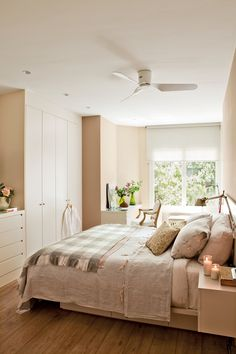 Bedroom Ideas for Small Rooms Small Bedroom Storage Ideas, Teenage Girl Bedroom Ideas for Small Rooms Girl Bedroom Walls, Home Bedroom, Modern Bedroom, Bedroom Decor, Bedroom Ideas, Bedroom Office, Bedroom Storage, Bedroom Colors, Wall Decor