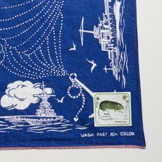 Fast Color Bandana Territorial Sea Navy - Kapital - Context Clothing