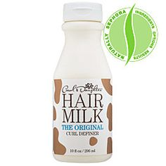 Hair Milk The Original Curl Definer	  What it is:  A quenching, fast-absorbing lotion that defines, tames, and restores luster to natural curls while conditioning.
