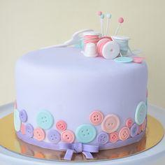 Geneva Homemade Sewing Cake | Petra Cakes