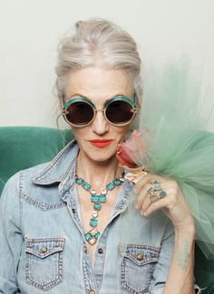 Never too old to be sassy!!!! Thanks, Anne Marie Beard for showing me this  http://www.itsnicethat.com/articles/karen-walker-ari-seth-cohen