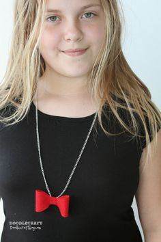 Bowties are Cool Necklace!