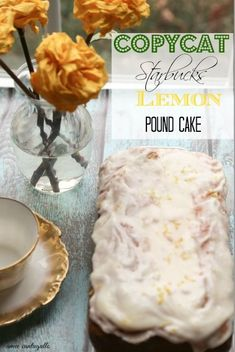 Moist and so wonderful Starbucks copycat lemon loaf recipe. It smells amazing and very easy to make. Perfect with glass of tea or milk.