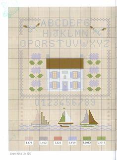from 'Brodez avec nos fils fantaisies' by Marie-Anne Rethoret-Melin, Monique Bonnin & Sylvie Teytaud /Mango Pratique/