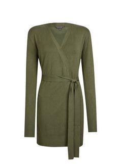 Longline Cardigan, Long Cardigan, Long A Line, Cardigans For Women, Capsule Wardrobe, Knitwear, Size 10, Dresses For Work, Belt