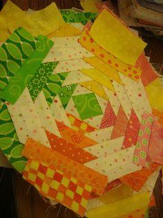 Lovely pineapple block. xox