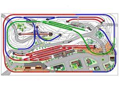 Escala Ho, Model Railway Track Plans, Lego Trains, Model Train Layouts, Fun Hobbies, Boathouse, Train Tracks, Model Trains, Jacuzzi