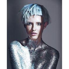#esteticalikes Your amazing colour galaxy by @royalshair crew @mary_alamine @tbandiera for @revlonprofessionalaustralia make up @mikele_s photo @davidmannah
