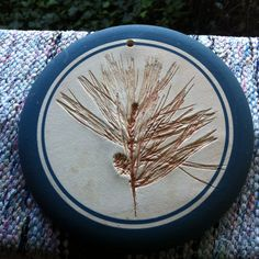 $.50 Pine coaster. I found one just like this about a year ago. Found at Goodwill.