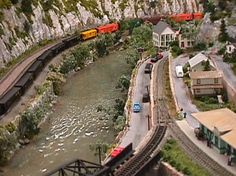 n gauge train | Some N Gauge Model Train Layouts