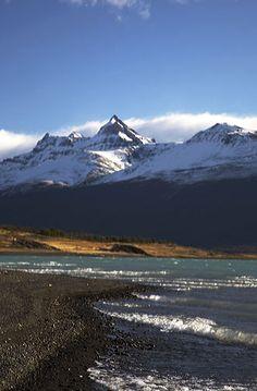 Glacier lake, Patagonia, Argentina.