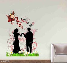 Checkout this latest Decorative Stickers_0-500 Product Name: *Stylish PVC Wall Sticker* Material: PVC Size (W X H ) : 64 cm X 35 cm  Description: It Has 1 Piece of PVC Wall Sticker Country of Origin: India Easy Returns Available In Case Of Any Issue   Catalog Rating: ★4.1 (220)  Catalog Name: Decorative PVC Wall Stickers Vol 1 CatalogID_68973 C127-SC1267 Code: 102-615359-573