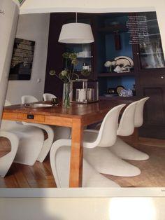 J'aime bien l'ambiance generale et les chaises Panton/vitra - Arts&Decoration n.500 Oct 2014