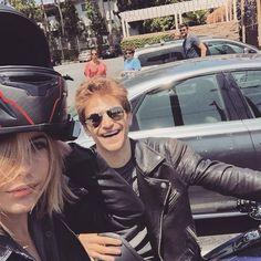 Keegan and Ashley biking around! | Pretty Little Liars