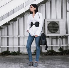 Talking about the corset belt trend now on the blog www.ariadibari.com | By Aria Di Bari, French style blogger