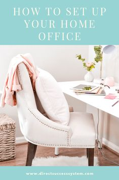This excellent home office decor is certainly an inspiring and top-notch idea T… – Office İnspiration Home Office Setup, Home Office Organization, Home Office Space, Home Office Design, Living Room Decor, Bedroom Decor, Office 2020, Feminine Home Offices, White Home Decor