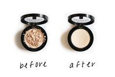 Beauty Trick: Broken Eye Shadow Quick Fix