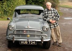 Graham Wall, 72, bought a rare 1955/56 Morris Isis around 12 years ago but stuck it at the back of his garage. via Yorkshire Post