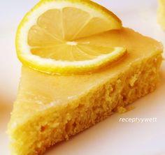 Pomarančovo-citrónový koláč (fotorecept) - recept | Varecha.sk Cheesecake, Low Carb, Sweets, Food, Basket, Lemon, Gummi Candy, Cheesecakes, Candy