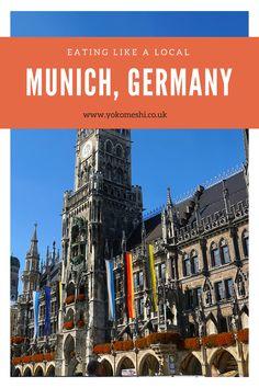 Eating like a local: Munich, Germany | Yoko Meshi  A complete guide to eating like a local in Munich, Germany.   Budget Europe