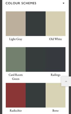 farrow and ball color boards pinterest farben und haus. Black Bedroom Furniture Sets. Home Design Ideas