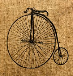 bicicleta arpillera servilleta