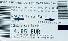 Malta-Gozo ferry tickets