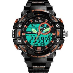 Sport Analog Waterproof Digital Watch for Boys Kids -- Check out this great product.