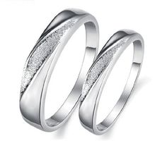 OPK Jewelry Rings Platinum Plated In Alloy White Gold Engagement Rings Wedding Band Doll Polish Wedding Bands,Men Wedding Ring Pics, Cool Wedding Rings, White Gold Wedding Rings, Wedding Band Sets, Silver Ring, Wedding Bells, Wedding Ceremony, Wedding Venues, Reception