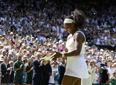 Smashing! Twitter Reacts to Serena Williams' Wimbledon Win #Muguruza, #First, #Murray, #Player, #Serena, #Sharapova, #Tournament, #USOpen, #Williams, #Wimbledon