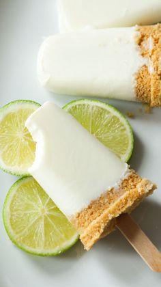 Lemon Pay Eis am Stiel - Besbelli Frozen Desserts, Frozen Treats, Healthy Desserts, Dessert Recipes, Cooking Time, Cooking Recipes, Comida Diy, Ideas Comida, Food Porn