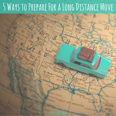 If you're planning a long distance move, make sure you read this advice first to help keep stress at a minimum and make the transition as smooth as possible!