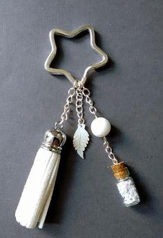 """Porte clés """"Etoile des neiges"""" : Porte clés par maddy-crea"""