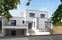 Schickes Einfamilienhaus Mit Schönen Details