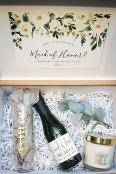 Bridesmaid/Maid of Honor Proposal Box Bridesmaid/Maid of Honor Proposal Box,I do. Bridesmaid/Maid of Honor Proposal Box – Related posts:Quick And Easy Hair Tutorials 😍 - Prom Amazing Rustic Outdoor Wedding Ideas from. Bridesmaid Gift Boxes, Bridesmaid Proposal Gifts, Wedding Bridesmaids, How To Ask Your Bridesmaids, Bridesmaid Gifts Will You Be My, Bridesmaid Presents, Groomsmen Proposal, Bridesmaid Hair, Wedding Party Invites