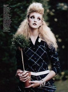Caroline Trentini by Arthur Elgort for Vogue US September 2004